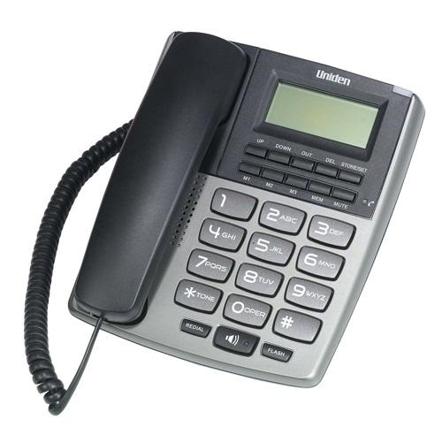 טלפון חוטי Uniden AS7402 יונידן